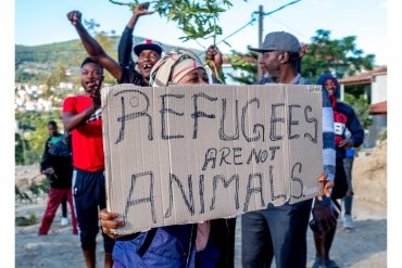 Refugees are not animals!